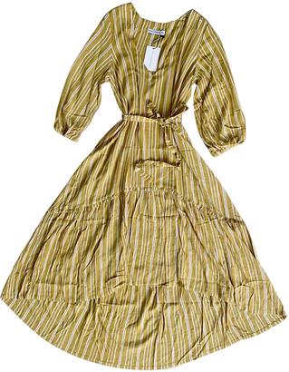 Faithfull The Brand Yellow Viscose Dresses