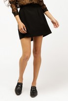 Pleated Front Skirt