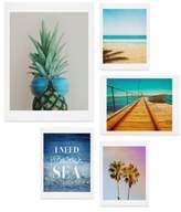 DENY Designs Tropical Five-Piece Gallery Wall Art Print Set