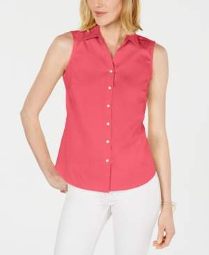 Charter Club Petite Collared Shirt, Created for Macy's