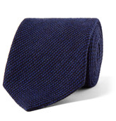 Loro Piana - 8cm Striped Baby Cashmere, Wool And Silk-blend Tie