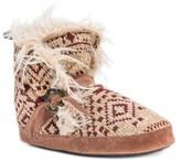 Muk Luks Women's Wendy Fair Isle Bootie Slippers