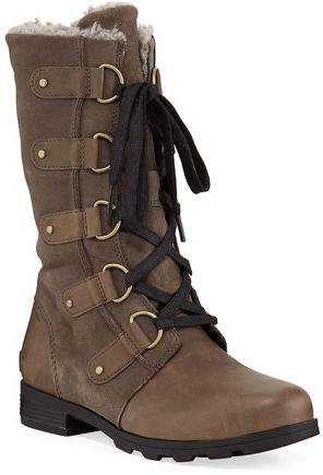 Sorel Emelie Waterproof Leather/Suede Boot