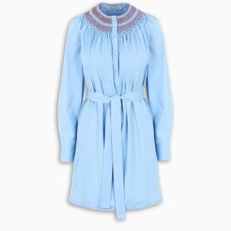 Prada Light blue dress