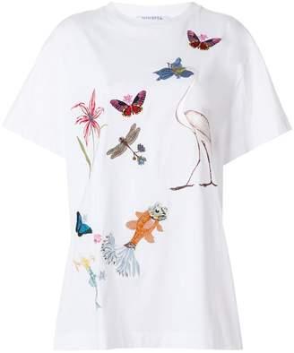 VIVETTA Kitel Phard embroidered T-shirt