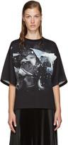 Christopher Kane Black Car Crash T-Shirt