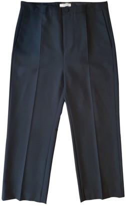 Bouchra Jarrar Black Wool Trousers