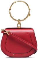 Chloé Red Nile small leather bracelet bag