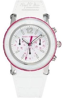 Juicy Couture HRH White Dragon Fruit Chronograph Ladies Watch 1900896