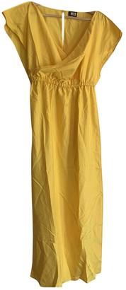 Fendi Yellow Silk Dresses