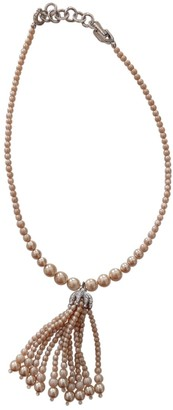 Christian Dior Beige Pearls Necklaces