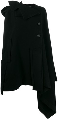Yohji Yamamoto Fatch Work Cloak coat