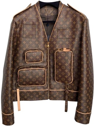Louis Vuitton Brown Synthetic Jackets