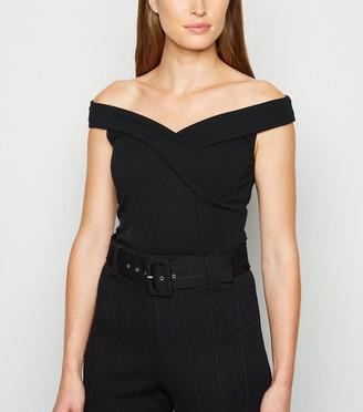 New Look Bardot Wrap Bodysuit