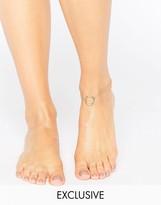 Monki Hoop Chain Anklet