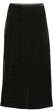Eileen Fisher Women's Velvet Midi A-Line Skirt