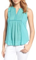 Lucky Brand Women's Lace Trim Tank