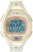 Timex TW5M06100 Cream & Gold-Tone Ironman Watch