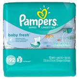 Pampers 192-Count Baby Wipes 3x Travel Pack in Baby Fresh