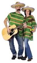 Fun World Costumes Fun World Men's Mexican Serape Sombrero Hat Bandit Wo Costume