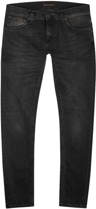 Nudie Jeans Tight Terry Dark Grey Skinny Jeans