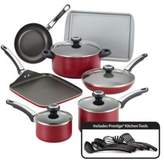 Farberware High Performance Nonstick Aluminum 17-Piece Cookware Set