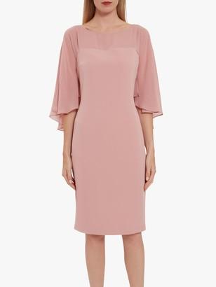 Gina Bacconi Olivina Crepe Dress