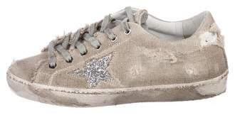 Golden Goose Superstar Canvas Sneakers