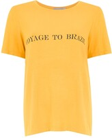 Alcaçuz printed Foster blouse
