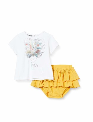 MEK Baby Girls' Compl. T-Shirt Con Gonnellina Clothing Set