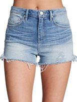 Unpublished Stella in Highland Light Wash Stretch Denim Cutoff Shorts
