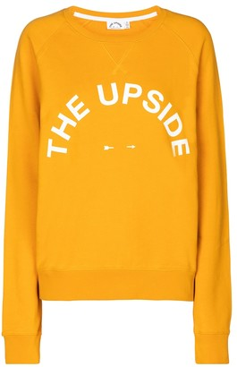 The Upside Bondi cotton-jersey sweatshirt
