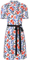 Carolina Herrera floral short sleeve shirtdress - women - Cotton - 2