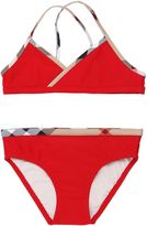 Burberry Checked Trim Lycra Bikini