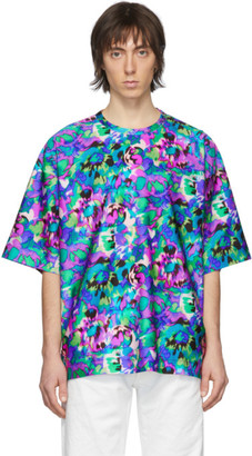 Dries Van Noten Multicolor Floral Print T-Shirt
