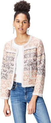 Find. Women's Jacket Cropped Jacquard
