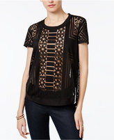 Bar III Burnout Top, Only at Macy's