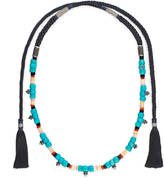 Gucci Beaded cord necklace