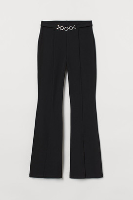 H&M Flared Pants - Black