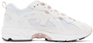New Balance White 827 Sneakers