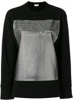 Fendi FF logo sweatshirt - women - Cotton/Polyester - 40
