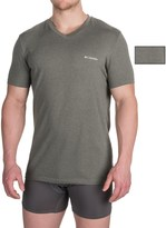 Columbia Omni-Wick® V-Neck T-Shirts - 2-Pack, Short Sleeve (For Men)