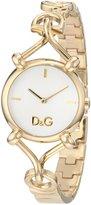 Dolce & Gabbana Women's DW0682 Flock Gold Case Dial Spaghetti Bracelet Watch