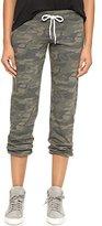 Monrow Women's Camo Print Sweatpants