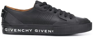 Givenchy Logo Print Low Top Sneakers