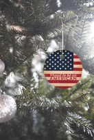 DENY Designs Anderson Design Group Proud To Be An American Flag Ornament