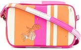 Emilio Pucci fish print cross-body bag