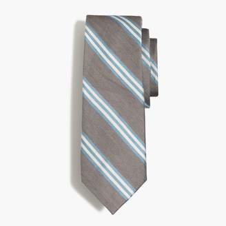 J.Crew Triple-striped tie