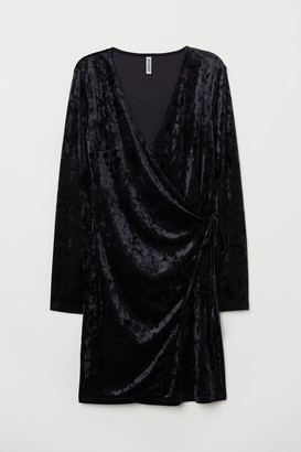 H&M Wrap Dress - Black