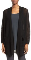 Eileen Fisher Women's Organic Linen Blend Long Cardigan